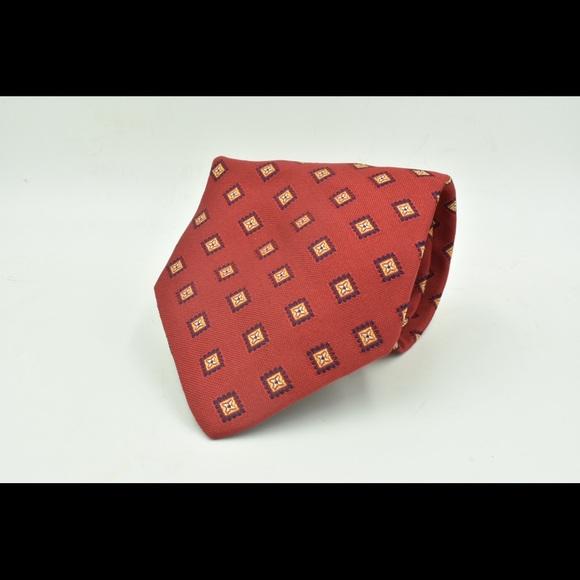 8d45e02d6524 Brooks Brothers Accessories | Geometric Necktie Silk | Poshmark